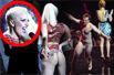 裸男MTV登颁奖礼