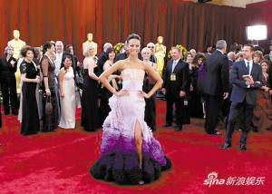 点评奥斯卡颁奖礼红毯最靓丽女星(图)