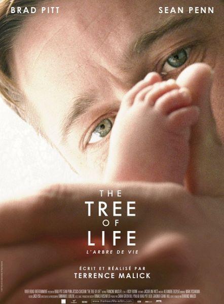 布拉德-皮特主演的《生命之树》海报