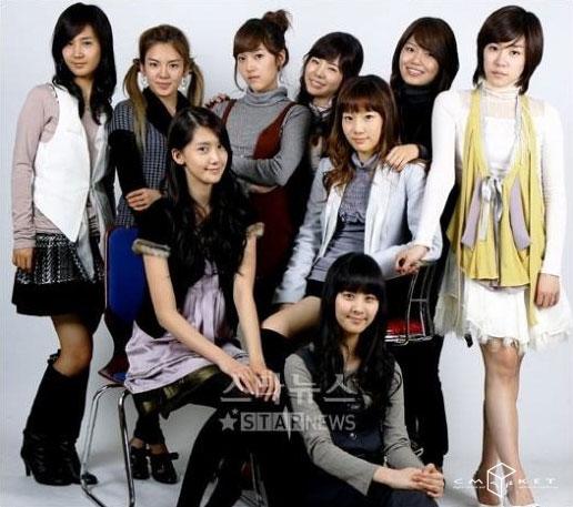 少女时代任girlscout宣传大使清纯可爱受瞩目