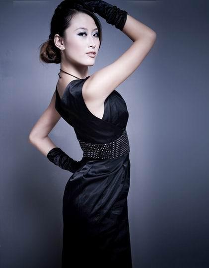 公司签约模特--张曦