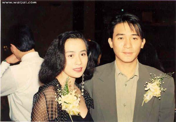 资料图片:梁朝伟刘嘉玲二十载甜蜜瞬间(14)