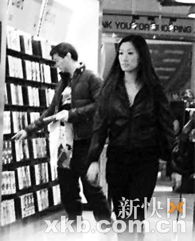 谢霆锋妹妹谢婷婷懒理张柏芝携新欢忙逛街(图)