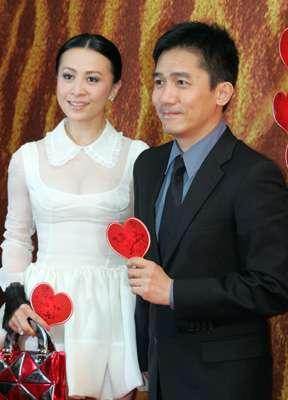 刘嘉玲将在婚礼大开酒戒张叔平接下订婚纱重任