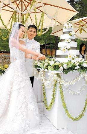 百余宾客不丹贺伟玲大婚王菲大女儿当花童(图)