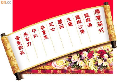 梁朝伟婚宴邀泰国名厨主理九道意菜招待亲朋