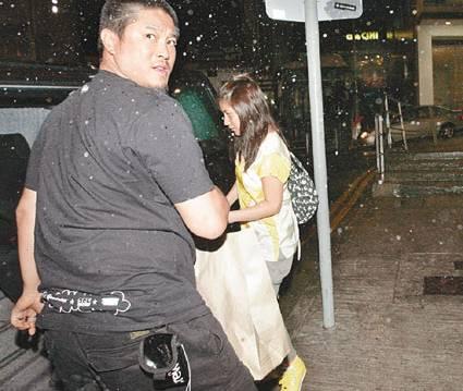 陈子聪与老婆超仪前晚参加连凯的生日派对