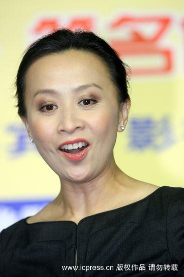 刘嘉玲现身上海书展助阵好友义不容辞(图)