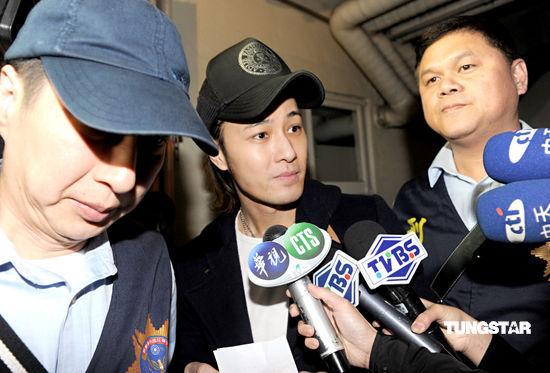 许绍洋涉嫌教唆黑道伤人遭移送台北地检署(图)