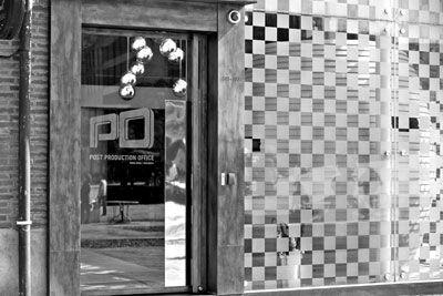 坐落于红坊内的PO,是谢霆锋开设在内地的后期制作公司