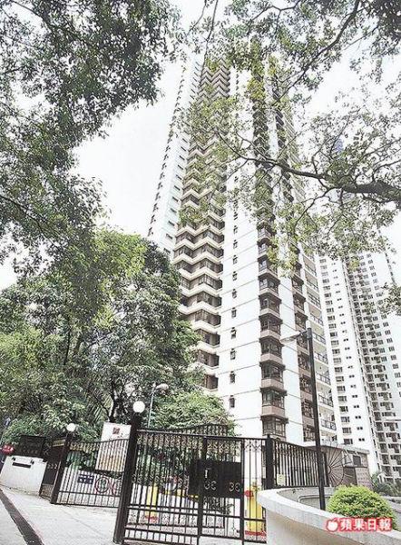 """价值1.06亿元人民币的香港""""世纪大厦""""豪宅据传是锋芝失和的主因。"""