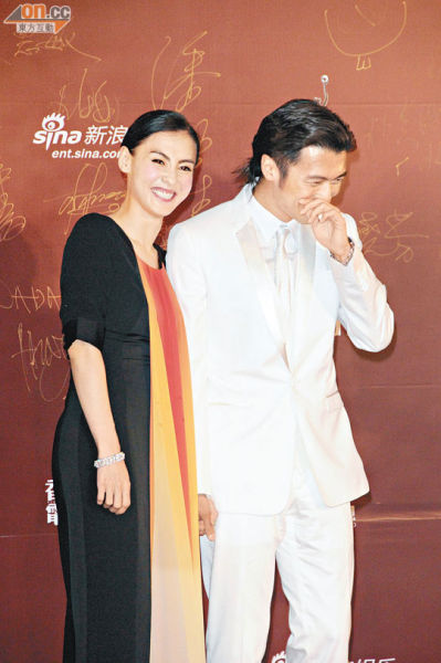 谢霆锋与张柏芝离婚四个月后,近日有复合迹象