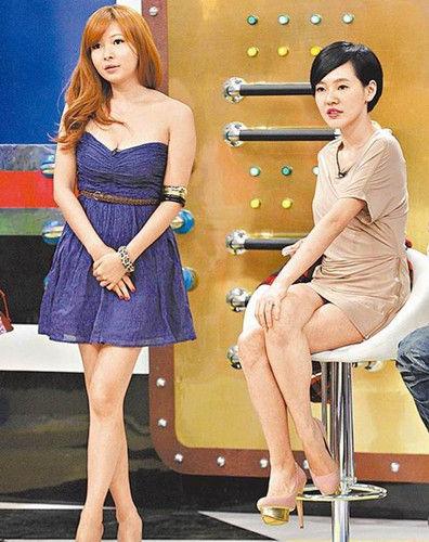 Makiyo(左)与小S感情深厚,经常上《康熙来了》。图片来源:台湾《苹果日报》