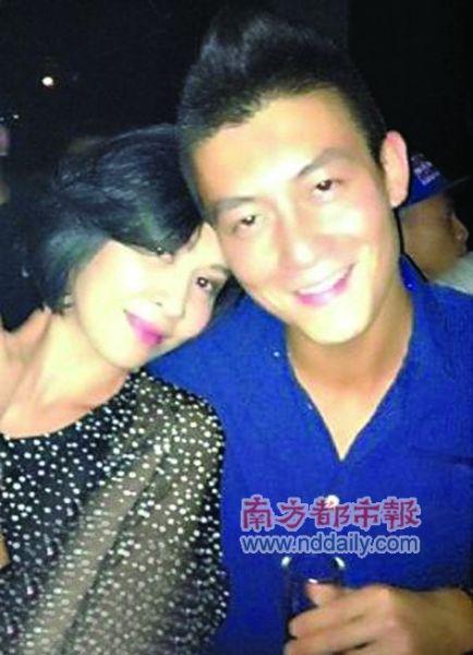 """刘嘉玲和陈冠希其实是""""世交""""。"""