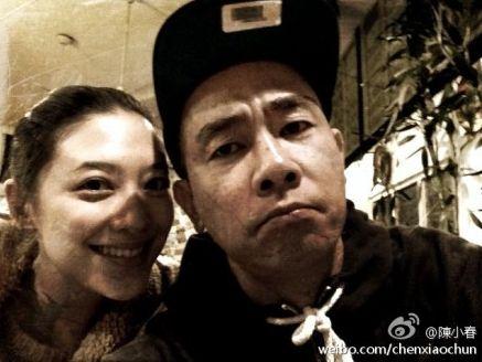 陈小春与老婆应采儿
