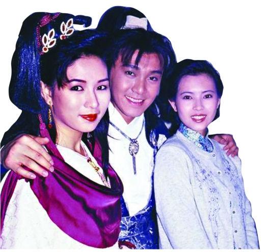 《为》文中称,与罗慧娟(左)相恋前,星爷还暗恋过蓝洁瑛(右)。