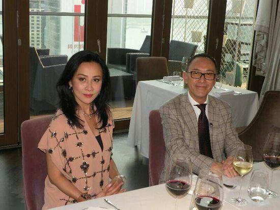 刘嘉玲在《女皇的盛宴》担任嘉宾