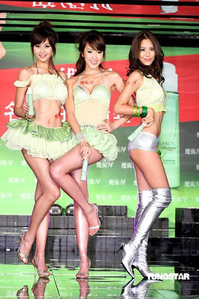 组图:三大名模火拼林志玲大展美腿翘臀小蛮腰