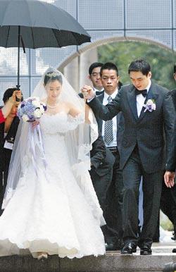 组图:台塑集团创办人王永庆长孙举行豪华婚礼