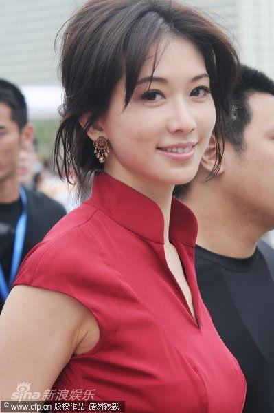 林志玲笑容甜美