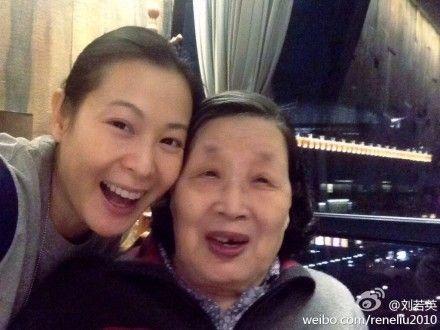 刘若英和祖母