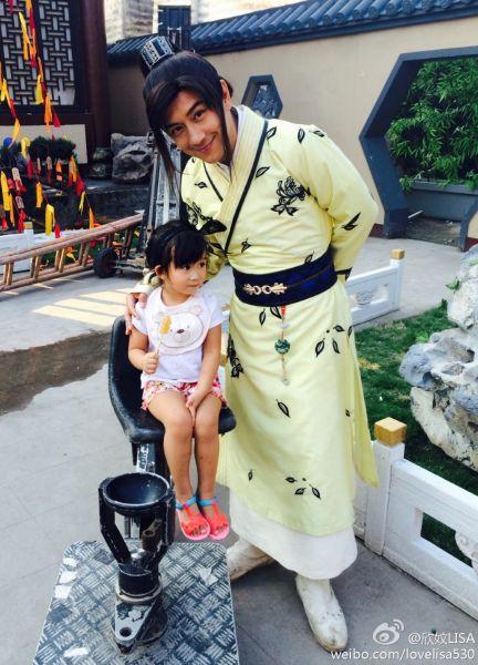 陈浩民和女儿