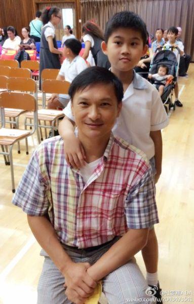 陈锦鸿儿子陈驾桦如今就读主流小学
