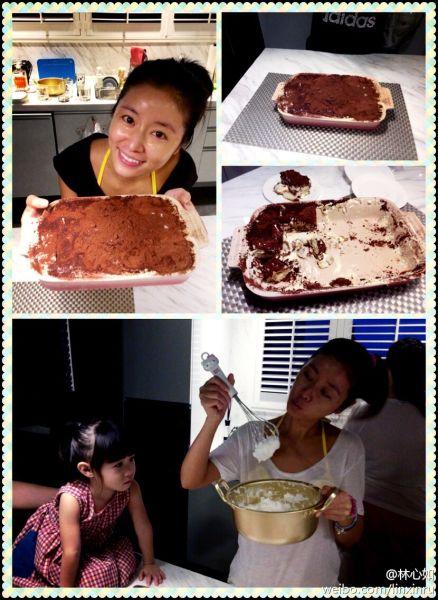素颜做蛋糕