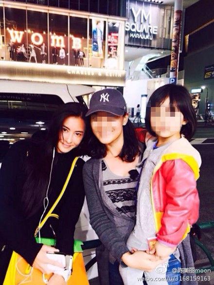 张柏芝在日本