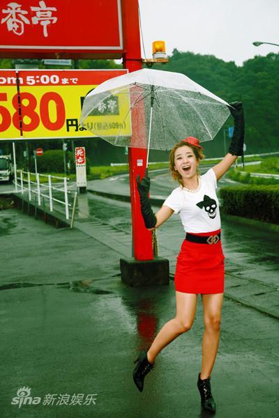 SARA日本写真寓意事业红火以原名进军影视界