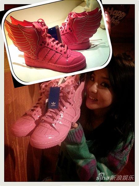 2ne1穿的鞋子