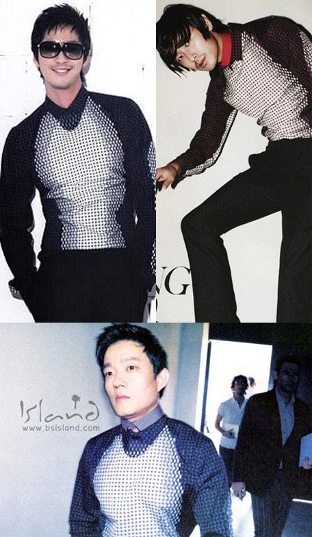 组图:韩男星撞衫大盘点苏志燮朱智勋穿衣重样