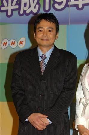 日本NHK电视台知名主播森本健成。