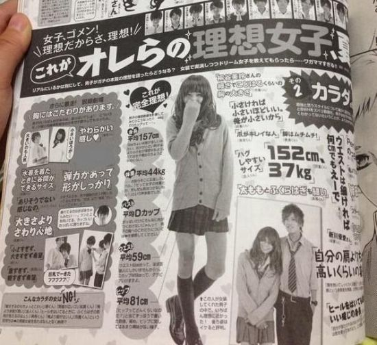 """日本杂志调查""""理想女性"""""""