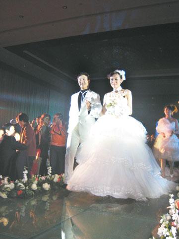 田亮叶一茜完婚全记录低调的婚礼有最亮的瞬间