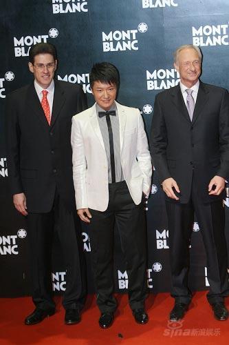 李宗翰出席时尚活动典雅风范尽显熟男气质(图)