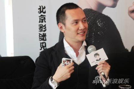 冯绍峰与粉丝同庆生官网正式成立泣不成声(图)