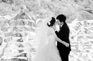婚礼现场感人至深