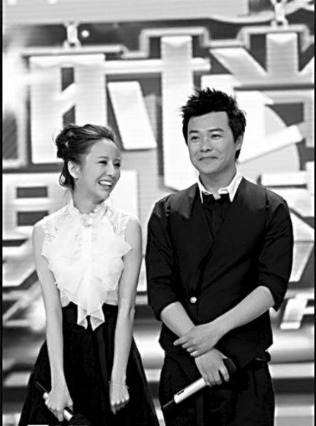 节目中的佟丽娅和陈思成