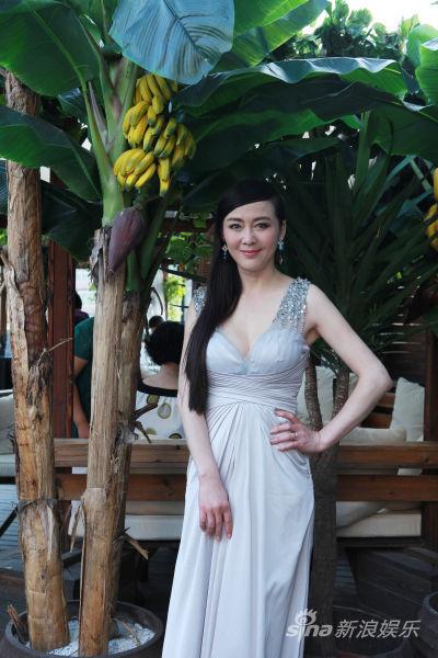 国模李琳人体艺术_李琳出席时装秀 熟女气质引关注(图)