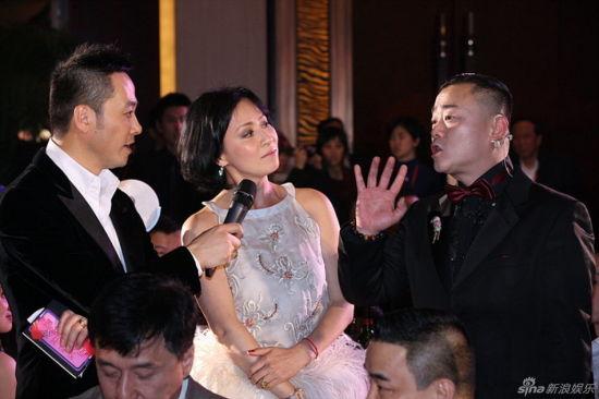 刘嘉玲参加周立波婚礼