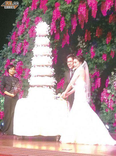香港婚礼现场画面