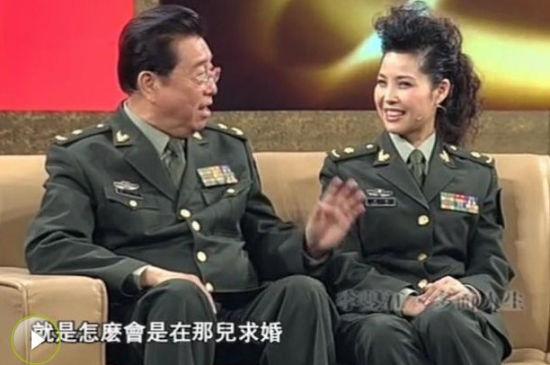 董路称《鲁豫有约》李双江梦鸽军服为为中国人民解放军2007版