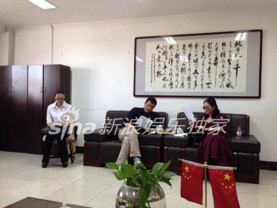 王菲李亚鹏9月13日下午在乌鲁木齐审看离婚协议