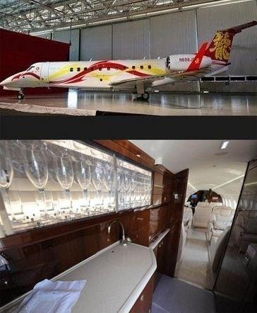 """成龙2亿""""私人飞机""""曝光,内部超奢华。"""