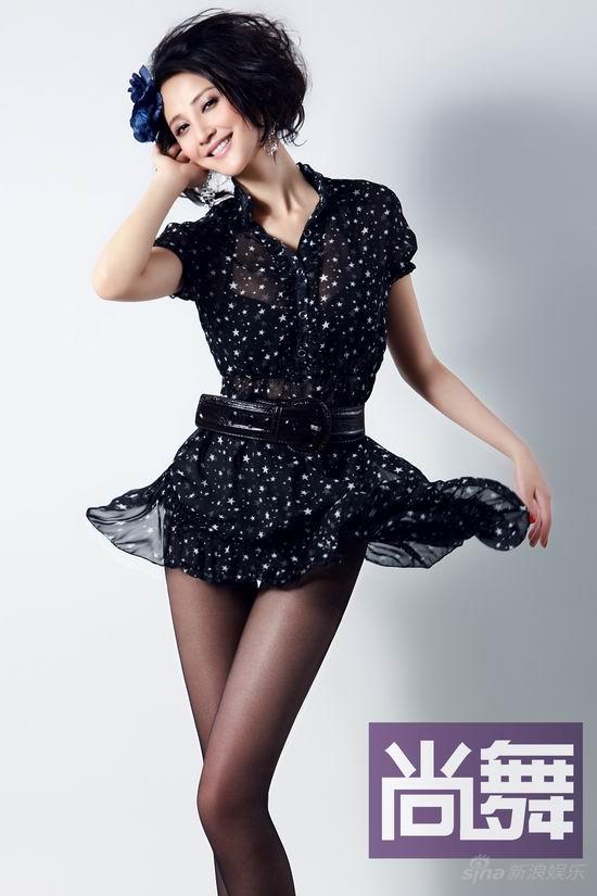 组图:张歆艺登《尚舞》封面 以性感的名义舞蹈