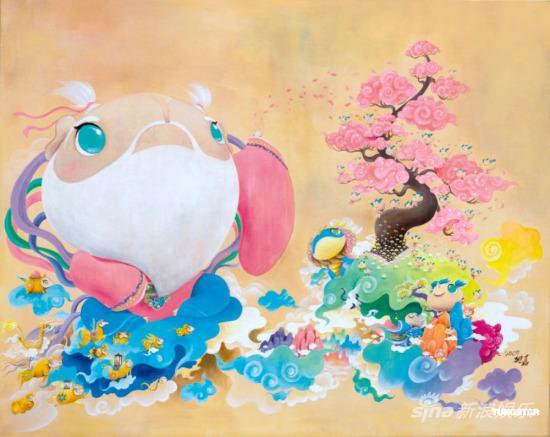 组图:迪嘉作品展览体验缤纷海洋宝贝