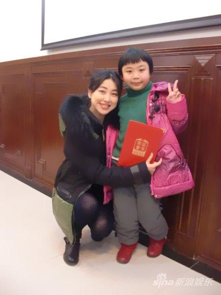朱珠被授予儿童肾病公益形象大使