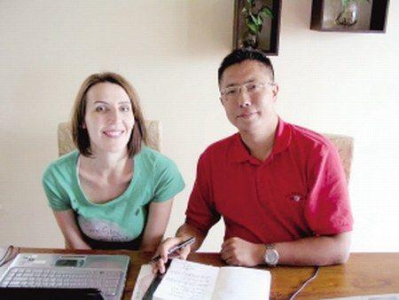 李阳和前妻李金(资料图)