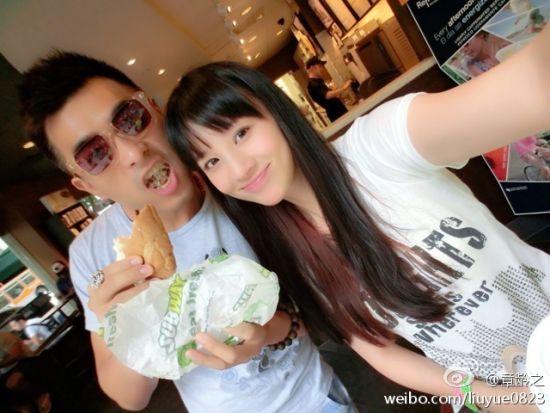 陈龙、章龄之在美国庆结婚周年